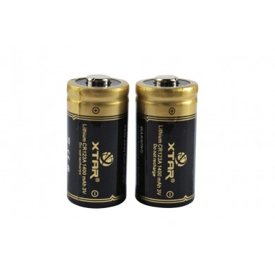XTAR CR123A 1400mAh Baterie Li-Ion