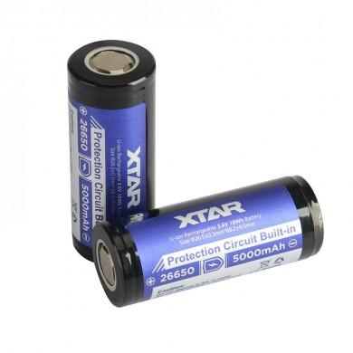 Acumulator IMR XTAR 26650 5000 mAh High Drain 35A
