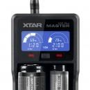 XTAR VC2 Plus Master Incărcător acumulatori Li-Ion / Ni-Mh