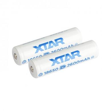 XTAR 18650 2600 mAh Acumulator Li-Ion cu protectie