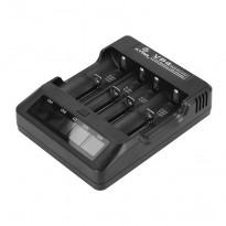 XTAR VP4 Incărcător acumulatori Li-Ion sau IMR 4 canale, afisaj LCD
